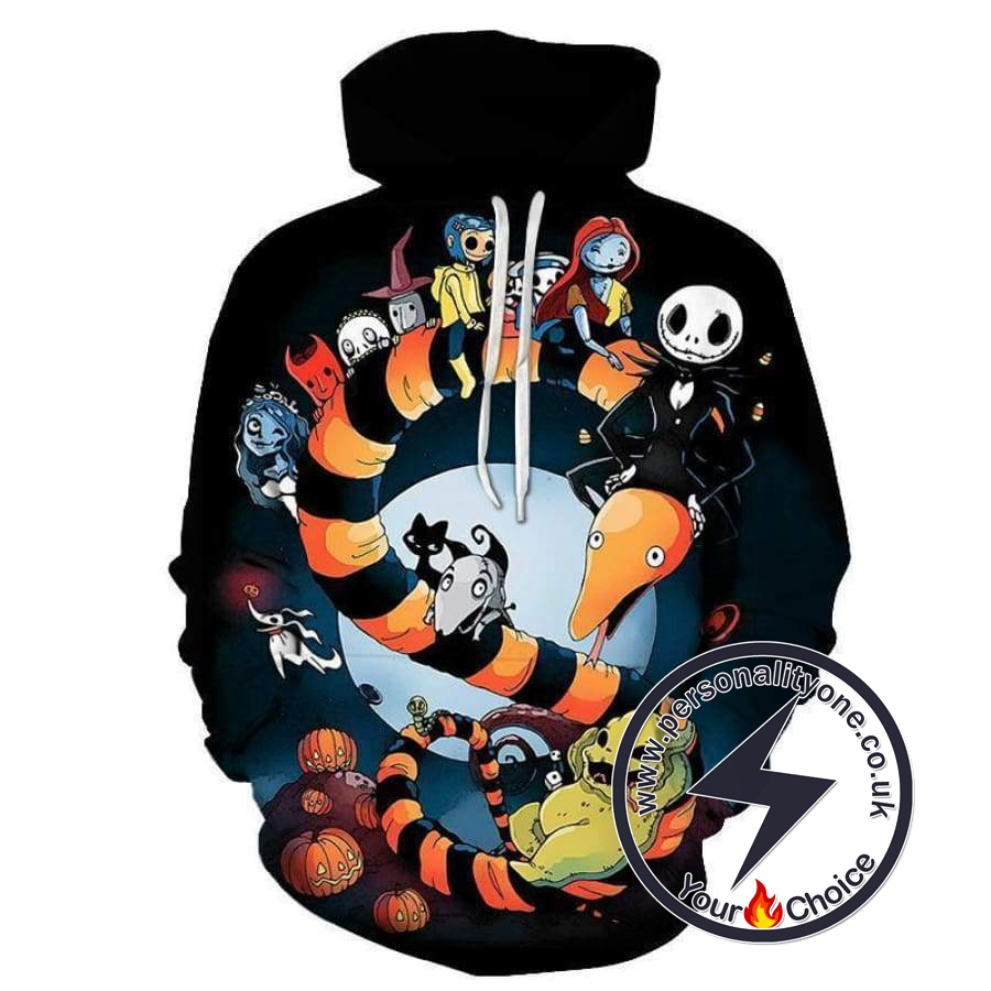 The Nightmare Before Christmas Jack And Toys Hoodie