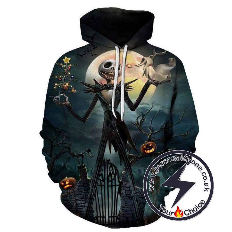 The Nightmare Before Christmas Jack Skellington Hoodie