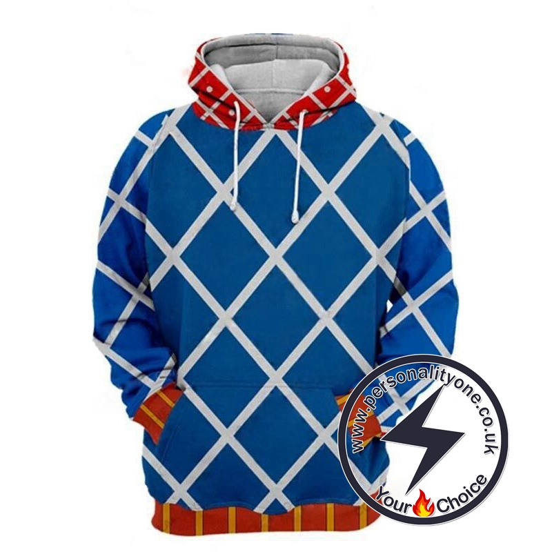 Jojo's Bizzare Adventure Golden Wind Guido Mista Cosplay Hoodie