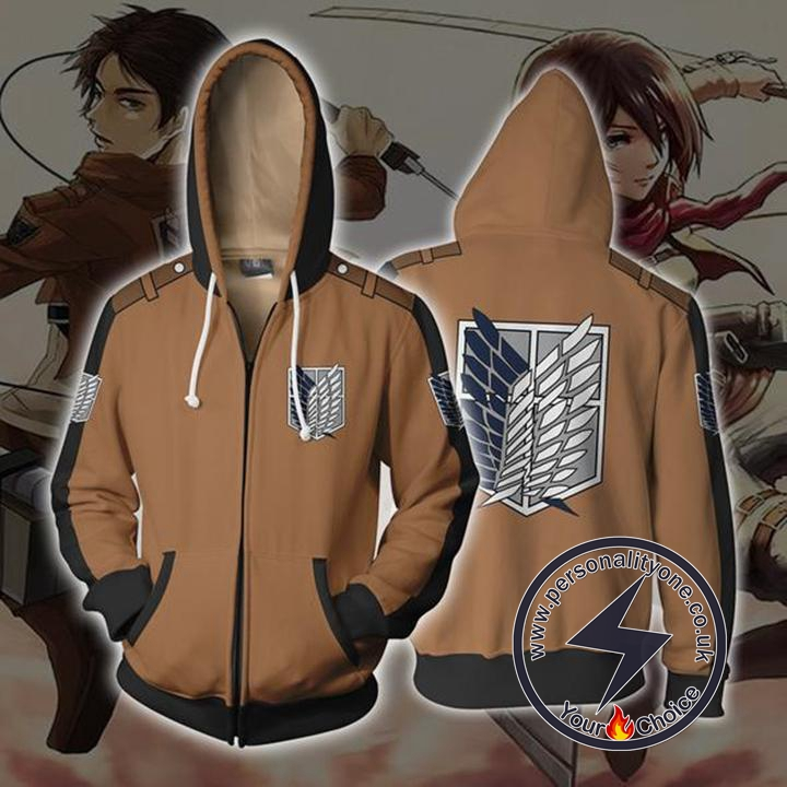 Attack on Titan Hoodie - Attack On Titan Jacket