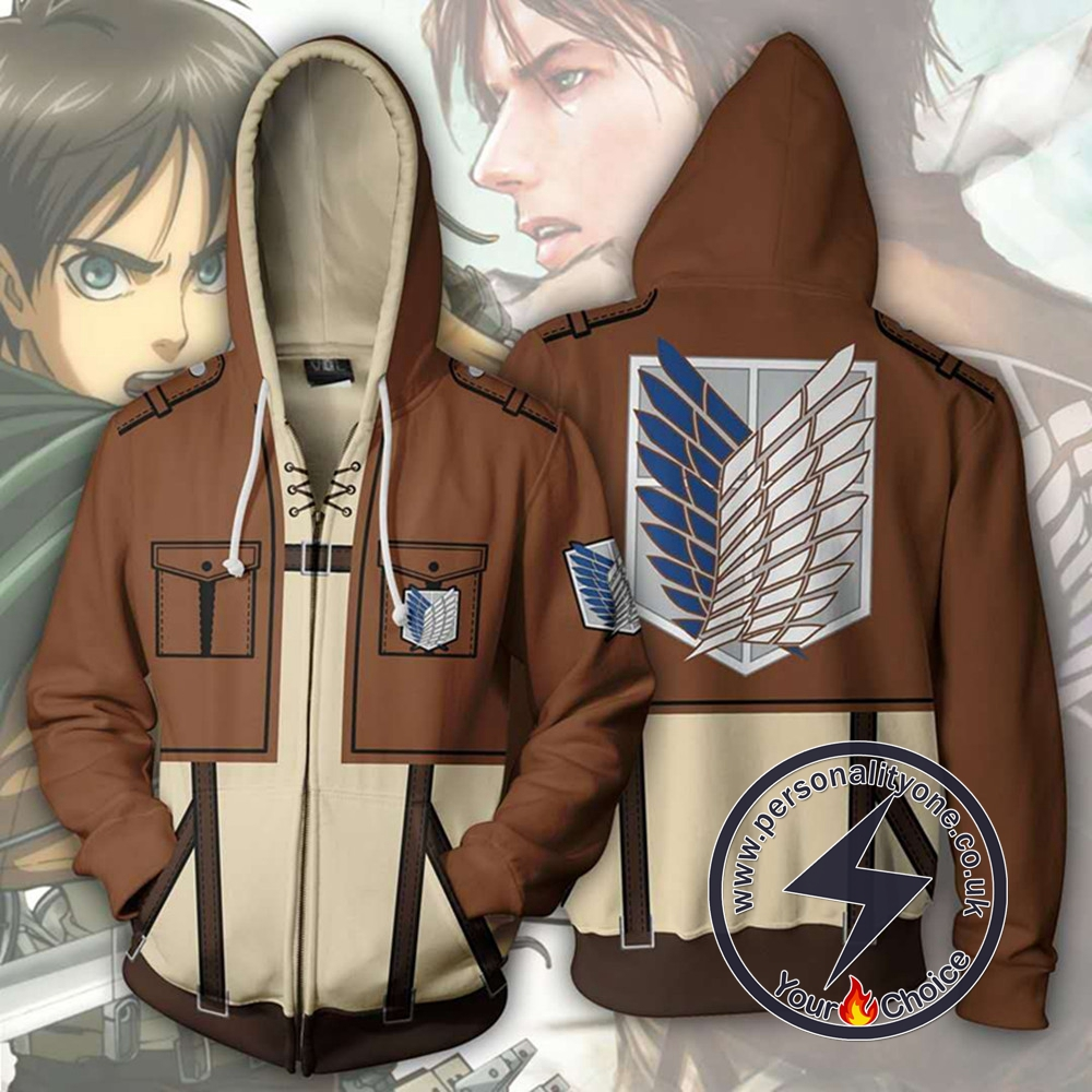 Attack on Titan Hoodie - Eren Yeager Jacket