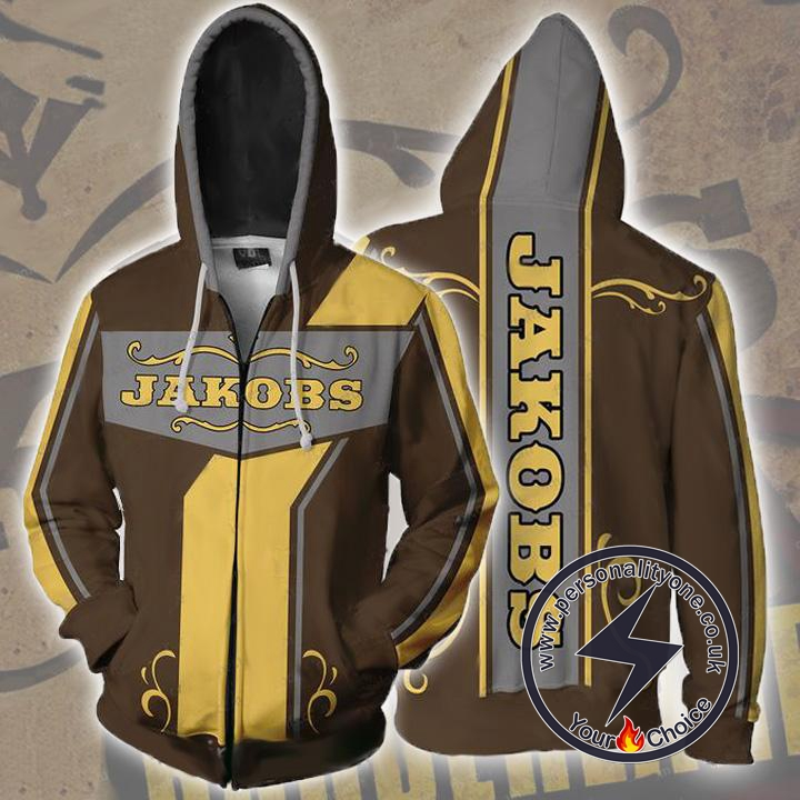 Borderlands Hoodies - Borderlands Jakobs Zip Up Hoodie Jacket