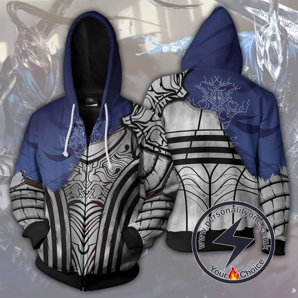Dark Souls - Knight Artorias Zip Up Hoodie Jacket
