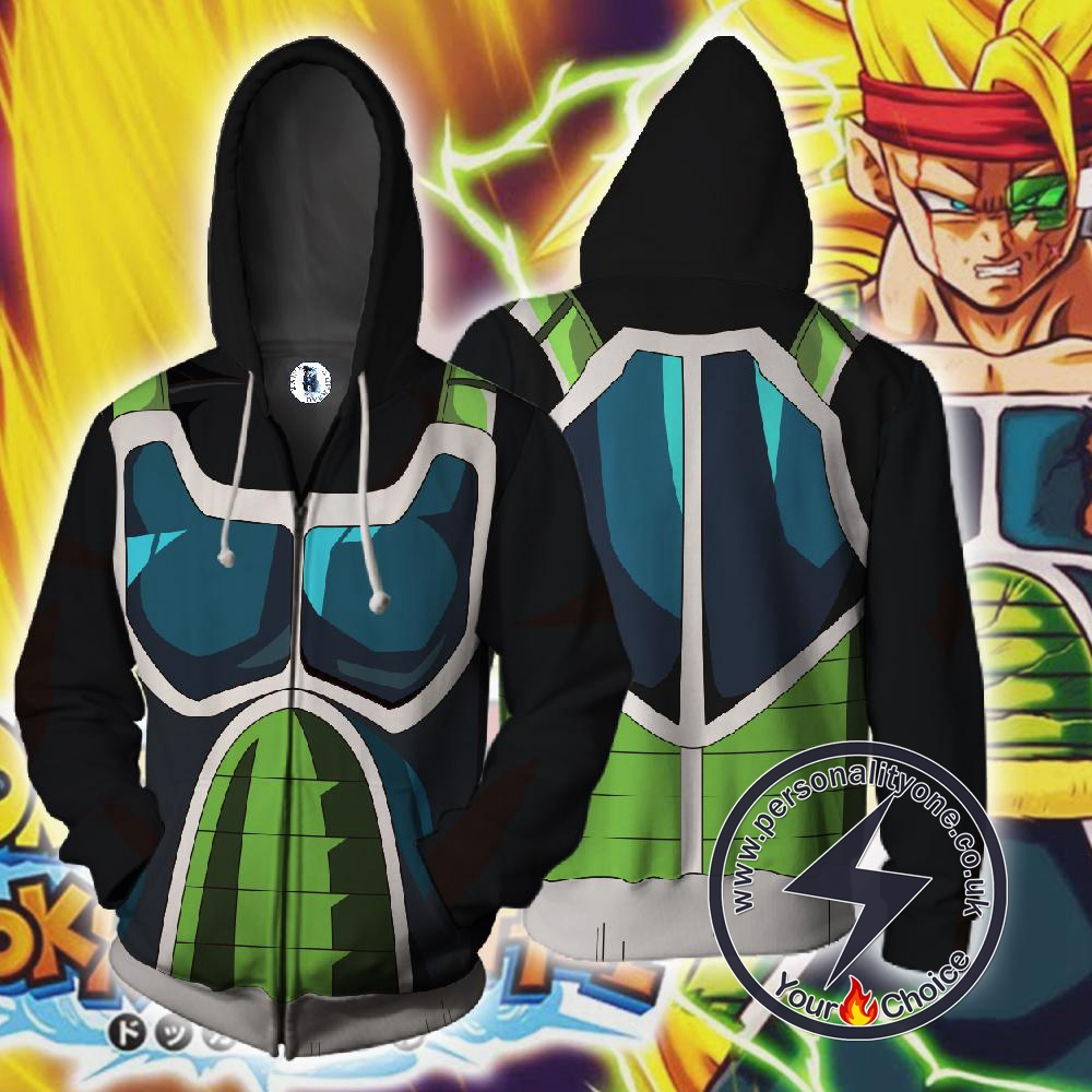 Dragon Ball Super Hoodie - Bardock Cosplay Jacket