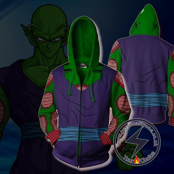 Dragon Ball Super Piccolo Zip Up Hoodie Jacket