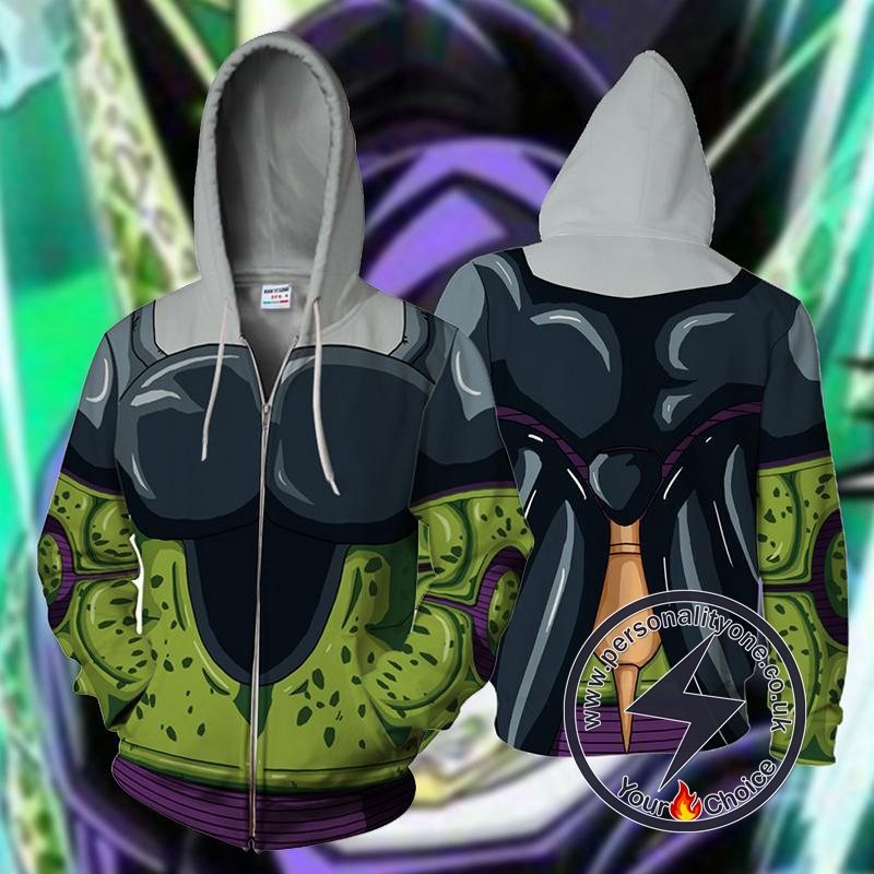 Dragon Ball Z Cell Hoodie Jacket