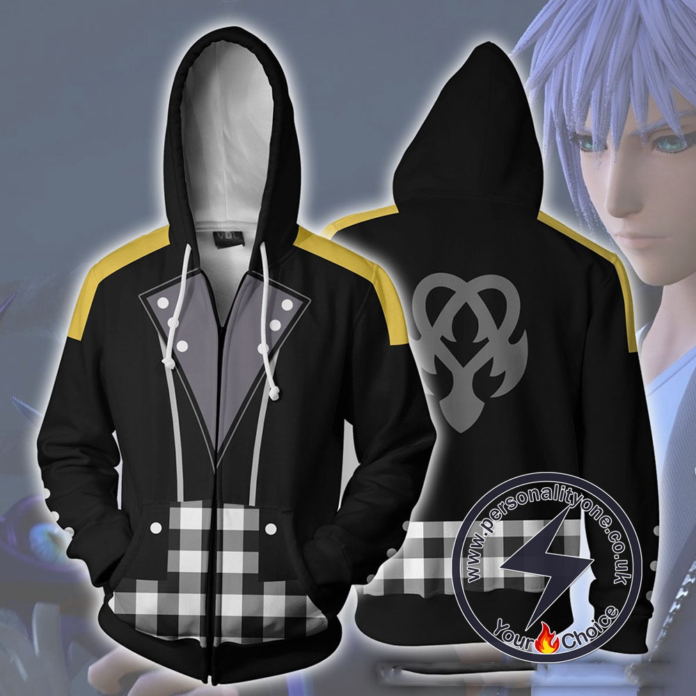 Kingdom Hearts Hoodie - Riku Keyblade Jacket
