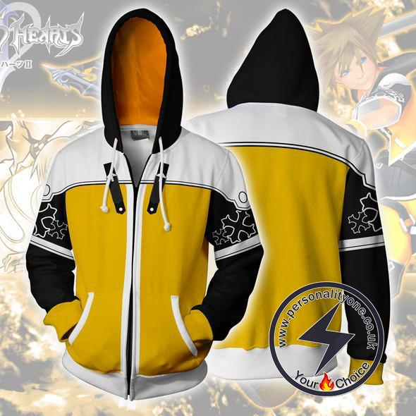 Kingdom Hearts Hoodies - Sora Mater Form Zip Up Hoodie Jacket