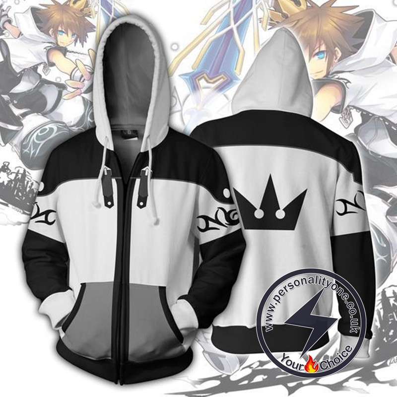 Kingdom Hearts Sora Final Form Zip Up Hoodie Jacket