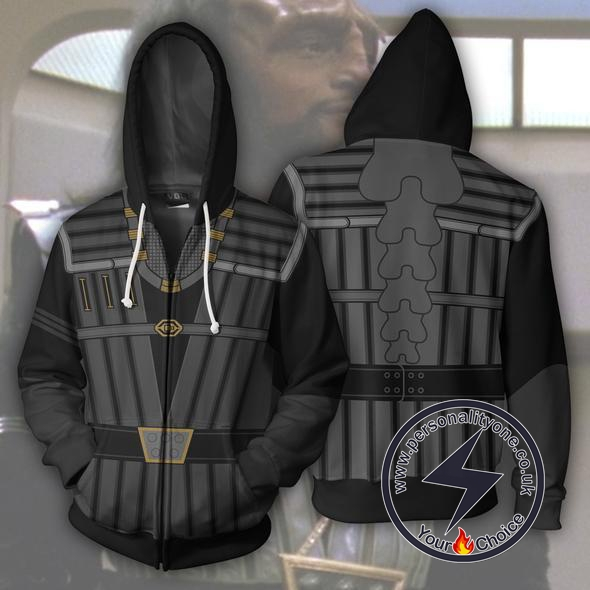 Klingon Officer Uniform Hoodie Jacket