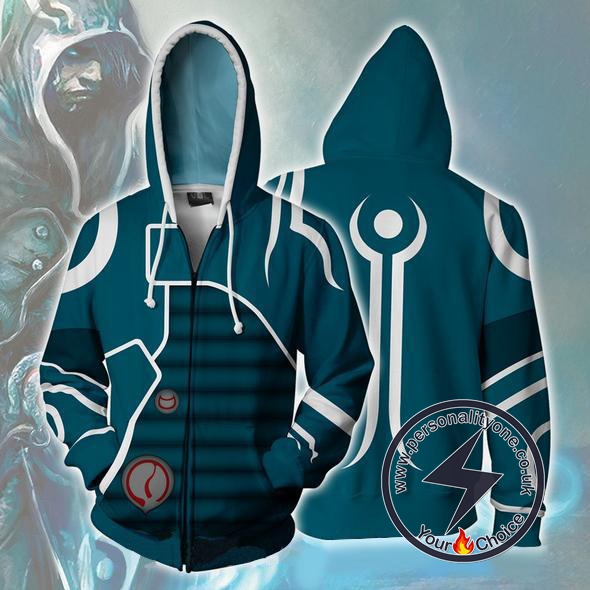 Magic The Gathering Zip Up Hoodie Jacket