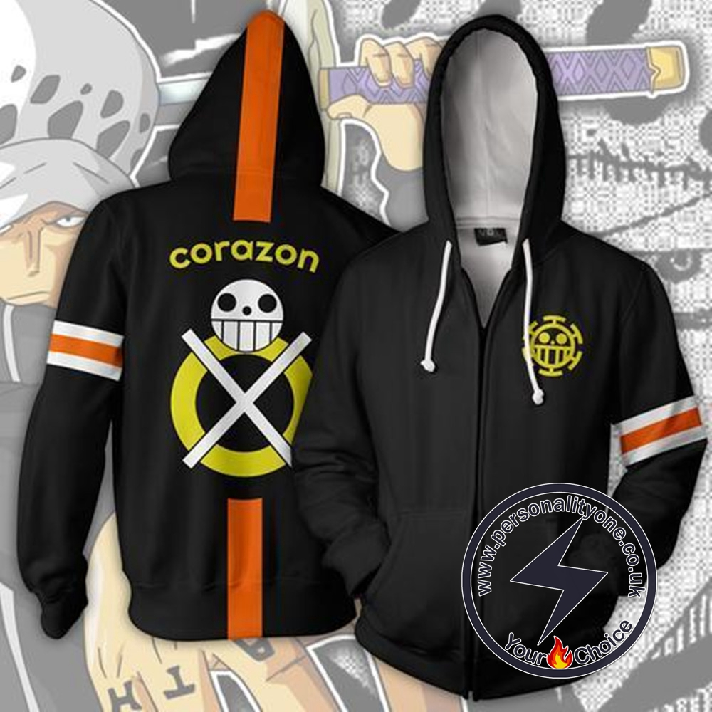 One Piece Hoodie - Trafalgar Corazon Jacket