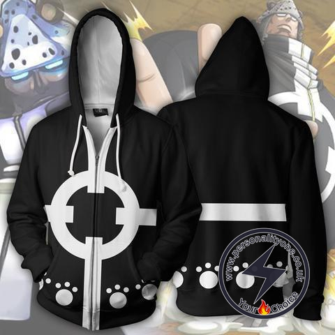 One Piece Shichibukai Kuma Zip Up Hoodie Jacket