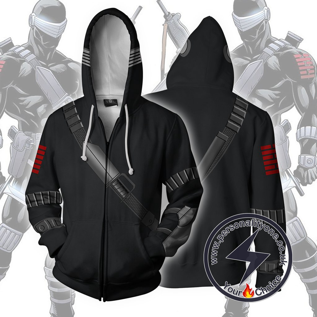 Snake Eyes Hoodie - G.I.JOE Jacket