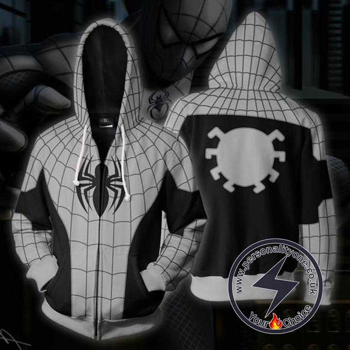 Spiderman Hoodie - Armored Spider-man Jacket