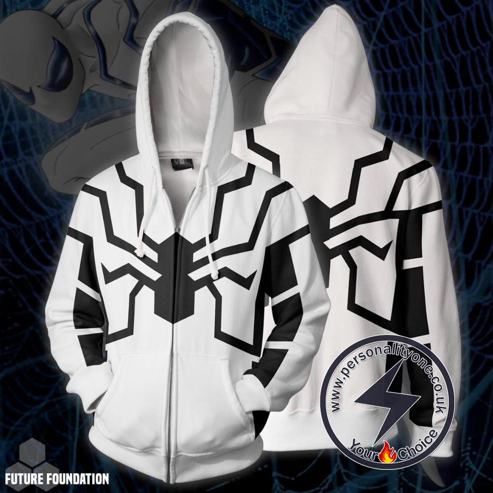Spiderman Hoodie - Future Foundation Spider-man Jacket