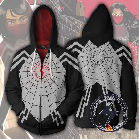 Spiderman Hoodie - Silk Spider Cindy Moon Jacket