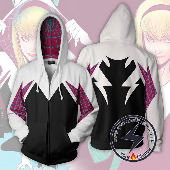 Spiderman Hoodie - Spider Gwen Jacket