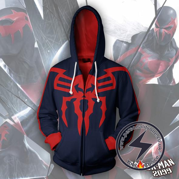 Spiderman Hoodie - Spider-Man 2099 Jacket