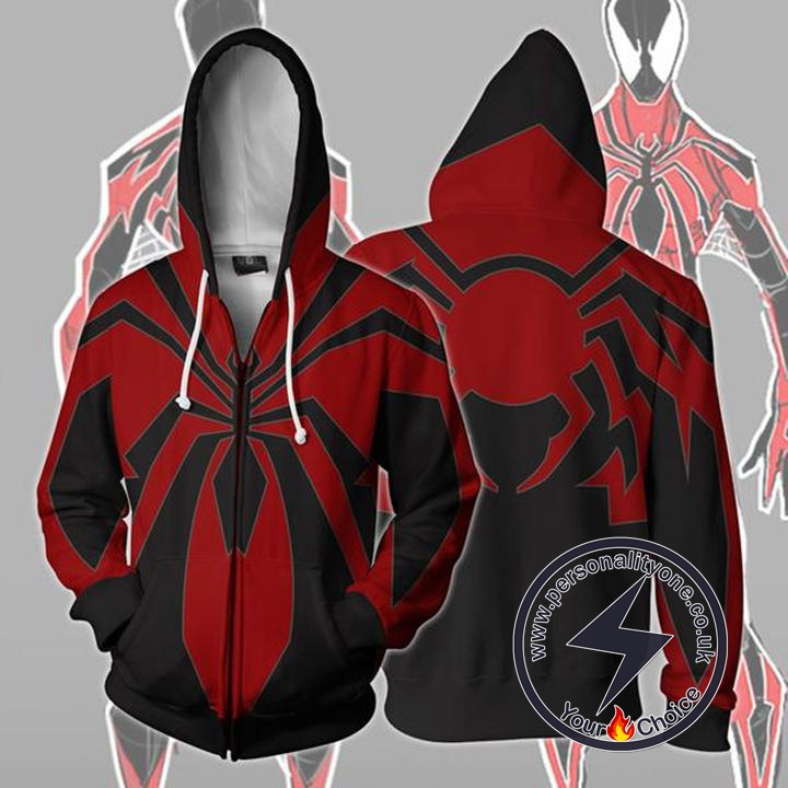 Spiderman Hoodie - Spider-Man Miles Morales Redesign Jacket