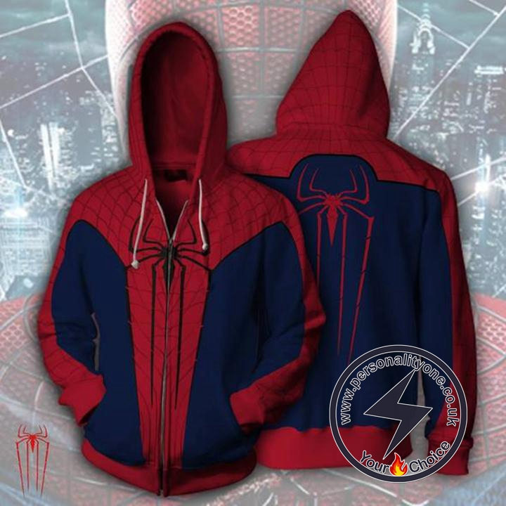 Spiderman Hoodie - The Amazing Spider-Man Jacket