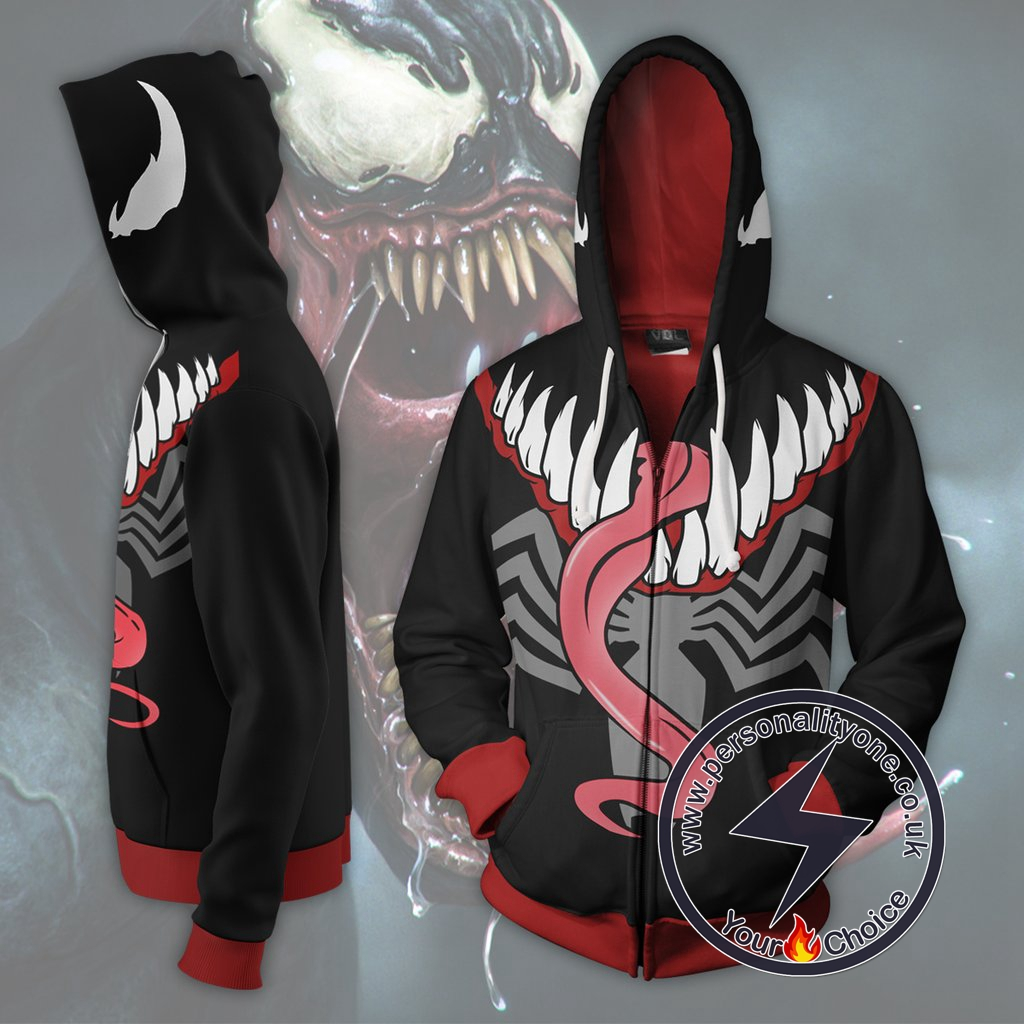 Spiderman Hoodie - Venom Marvel Universe Jacket