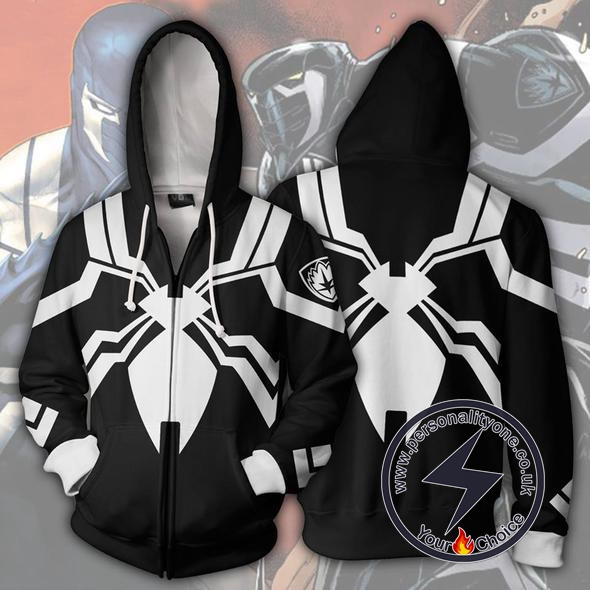 Spiderman Hoodie - Venom Space Knight Jacket