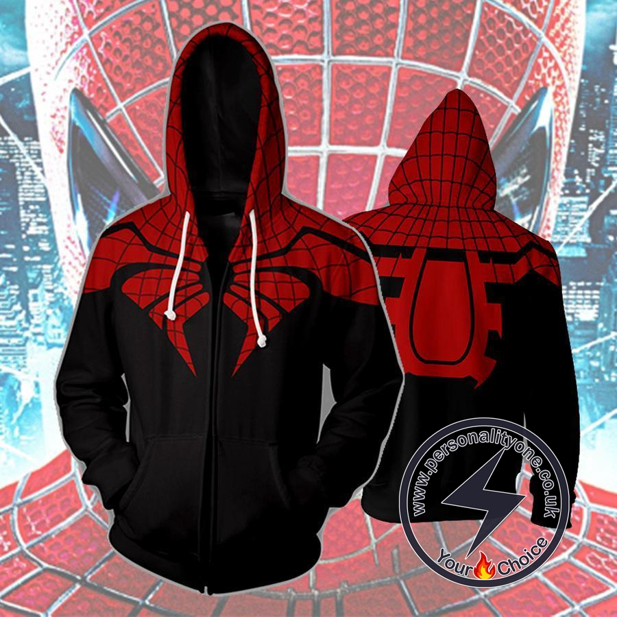 Spiderman The Superior Spiderman Zip Up Hoodie Jacket
