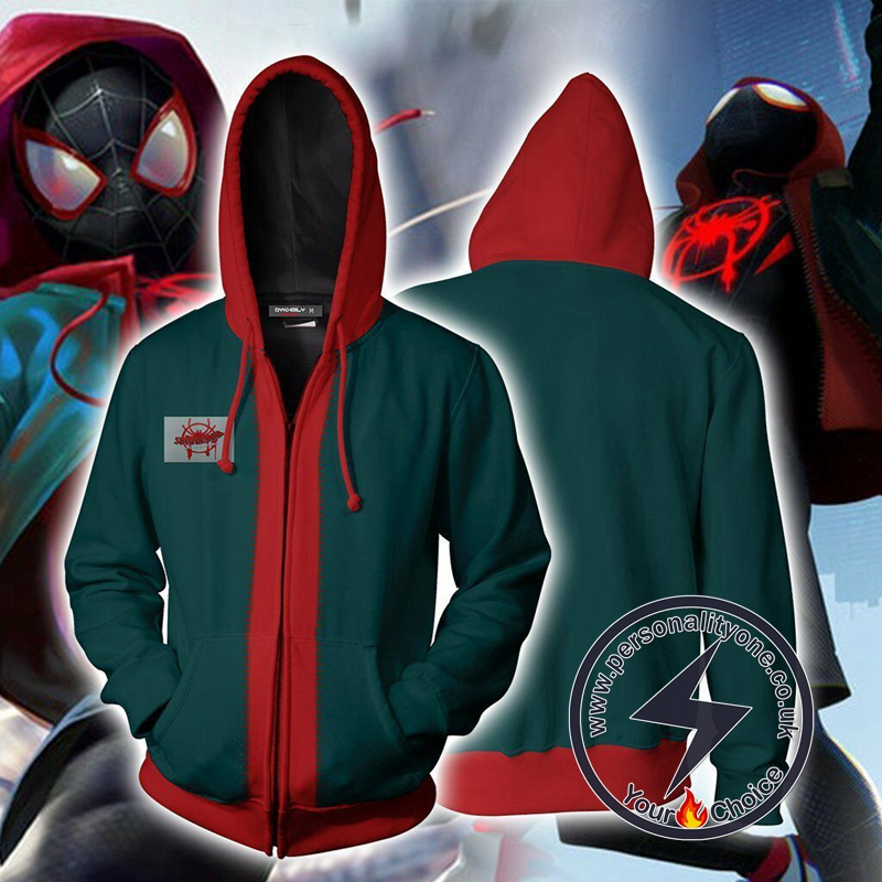 Spiderman Into the Spider Verse Miles Morales Jacket