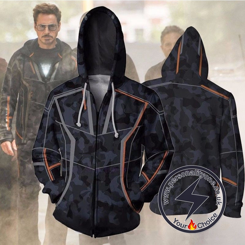 Tony Stark Avengers Infinity War Jacket Hoodies