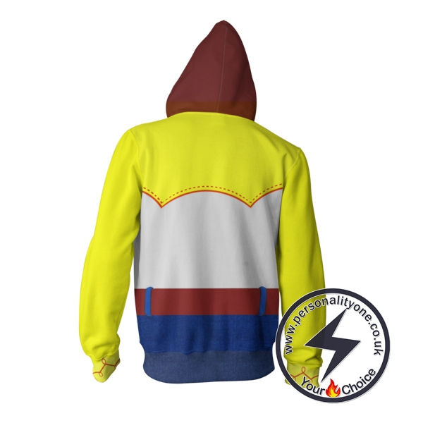 Toy Story Jessie Zip Up Hoodie Jacket
