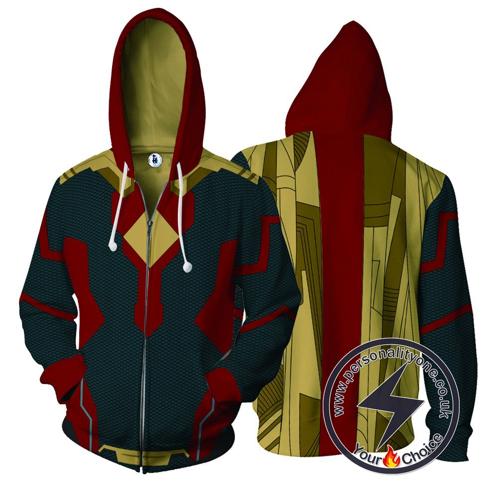 Vision The Avengers Hoodie Jacket