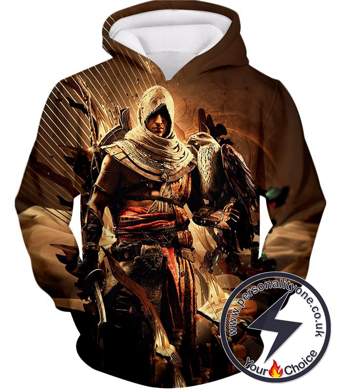 Assassin's Creed Origins Bayek of Siwa Cool Graphic Hoodie