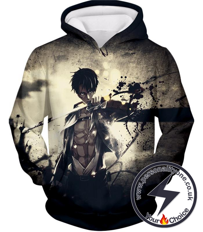 Attack on Titan The Survey Corps Wings of Freedom Blue Hoodie