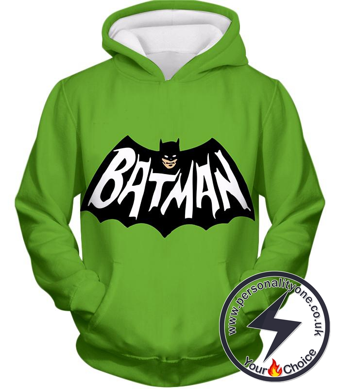 Awesome Promo Batman Cool Green Hoodie