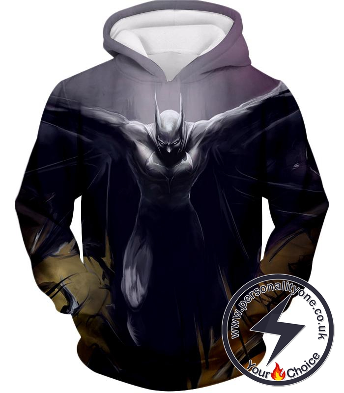 Batman the Dark Knight Action Super Cool Graphic Hoodie
