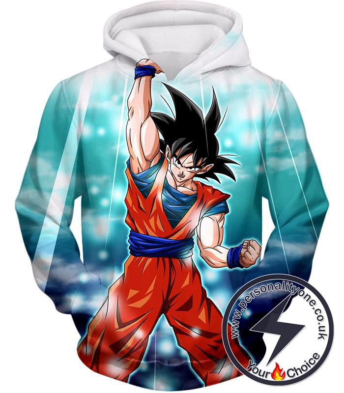 Dragon Ball Super Best Fighter Goku Awesome Hero Action Anime Hoodie