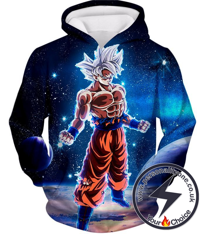 Dragon Ball Super Latest Goku Transformation Cool Limit Breaker Form Hoodie