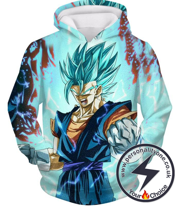Dragon Ball Z Hoodie - Super Saiyan Blue Vegito Power