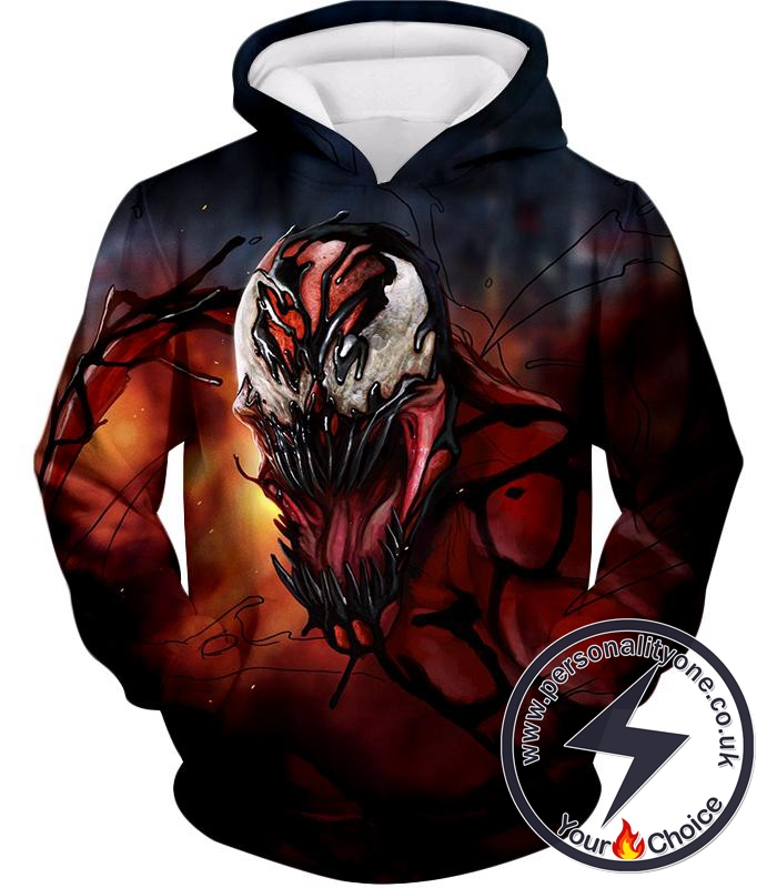 Extremely Awesome Symbiotic Creature Carnage Hoodie