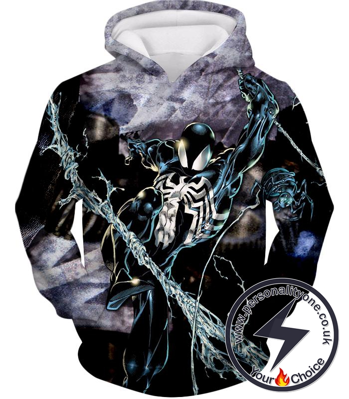 Incredible Animated Venom Cool Action Hoodie