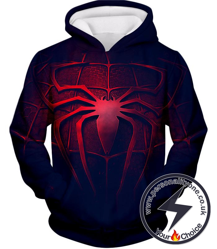 Marvels Favourite Web Shooting Spiderman Cool Promo Hoodie
