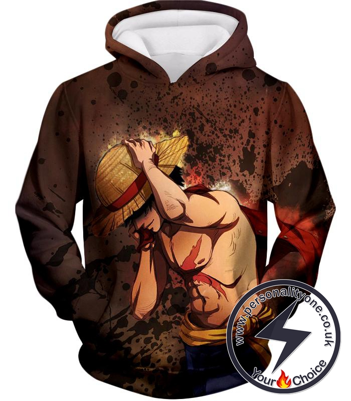 One Piece Best Pirate Captain Monkey D Luffy Cool Anime Hoodie