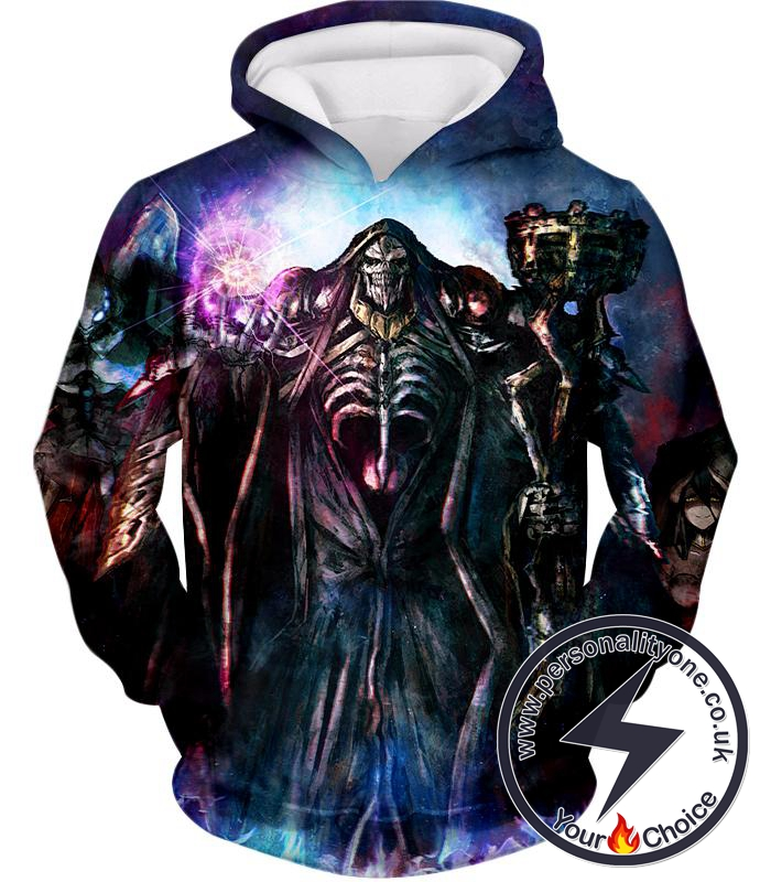 Overlord Extremely Evil Sorcerer King Ainz Ooal Gown Cool Graphic Hoodie