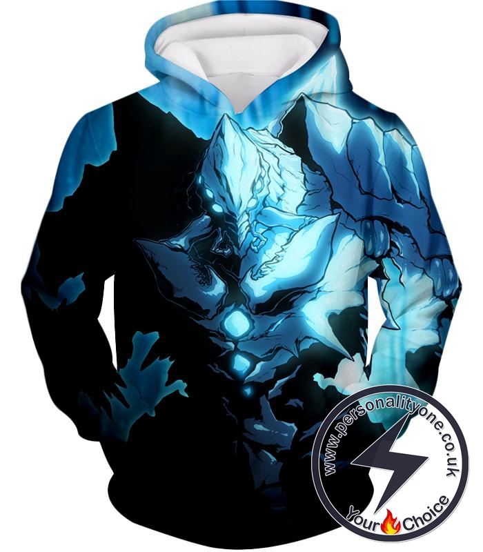 Overlord Ultimate Ruler of the Frozen Glacier Cocytus Cool Anime Promo Hoodie