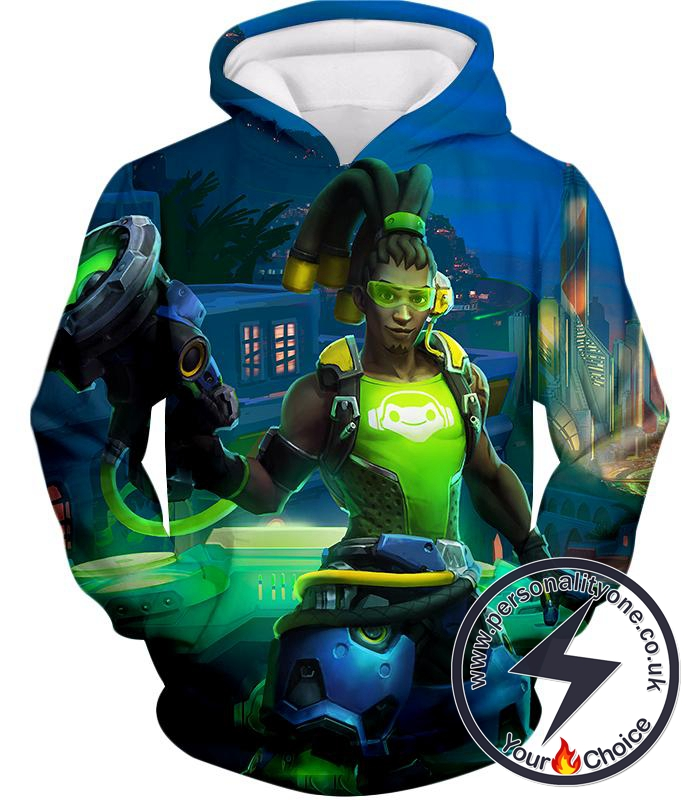 Overwatch Celebrity Hero Lucio Hoodie