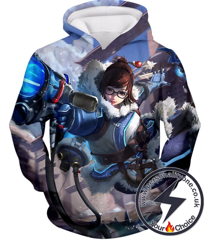 Overwatch Climatologist Mei Awesome Defense Hero Hoodie