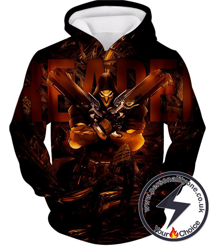 Overwatch Dangerous Defense Hero Reaper Hoodie