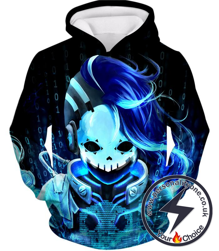 Overwatch Deadly Attacker Sombra Skin Hoodie