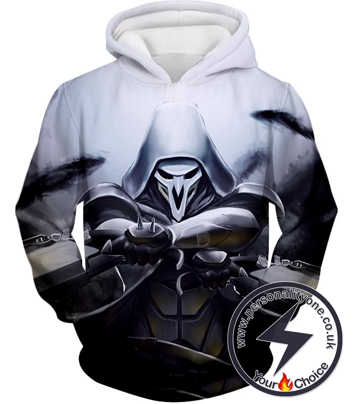 Overwatch Deadly Ghost Reaper Hoodie